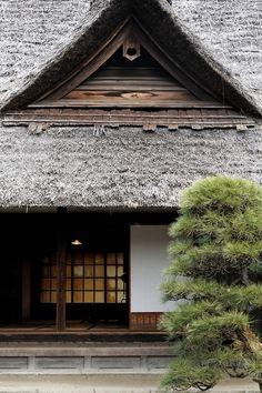 japaneseaesthetics:  One side of a traditional Japanese house.  Image via Pinterest