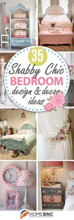 Shabby Chic Bedroom Decorations