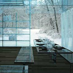 Glass House Designed Santambrogio