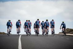 Our friends of Team Cervelo are flying their new colors and sponsors on their trainingcamp, looking good guys! A Good Man, Cycling, Guys, Friends, Colors, Amigos, Biking, Bicycling, Colour