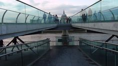 St.Paul 's cathedral , Millenium bridge and The Thames #Awesome