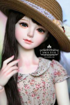 Xaga Doll Elsie [Girl], (Purple Obsidian Series), with Beautiful Barbie Dolls, Pretty Dolls, Ooak Dolls, Blythe Dolls, Doll Repaint Tutorial, Dainty Doll, Enchanted Doll, Cute Baby Dolls, Dream Doll
