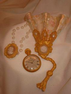 Victorian style sugar pieces by Sidney Galpern