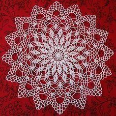 Crochet Tablecloth, Crochet Doilies, Crochet Stars, Crochet Patterns, Diy, Lace, Album, Crochet Strappy Tops, Crochet Lace