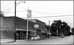 Downtown Cotton Plant, Arkansas.