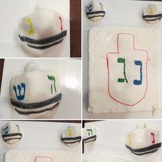 Dreidels / Upsherin cake