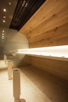 Gallery of Smoking Room Grand Tree Musashikosugi / Hiroyuki Ogawa Architects - 9 Airport Lounge, Restroom Design, Lounge Design, Smoking Room, Booth Design, Wall Treatments, Retail Design, Restaurant Design, Interior Architecture