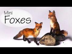 Miniature Fox - Polymer Clay Tutorial - YouTube - sugarcharmshop