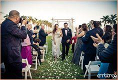 The Deering Estate #miami #wedding #ceremony #bride #groom
