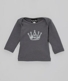 Asphalt Crown Long-Sleeve Lapneck Tee by Candy Shop Kids on #zulily today!