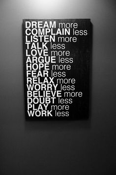 A great way to apply things to life.
