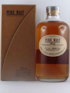 Whisky NIKKA  Pure Malt Black #Whisky #Nikka #Puremalt #LaVigneronne #Toulouse #Japon # Whiskyjaponais #Japan