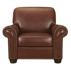 Easton Leather Chair x 2
