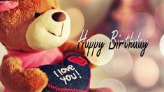 Happy birthday Images,Happy birthday Wallpapers,Birthday Pictures Greeting Cards for Wishes.Images of Birthday wishes HD Wallpapers Images Pics Free. Romantic Birthday Wishes, Birthday Wishes For Girlfriend, Happy Birthday Wishes, Birthday Greetings, Birthday Celebration, Cute Girl Wallpaper, Cute Wallpaper For Phone, Bear Wallpaper, Teddy Day Wallpapers
