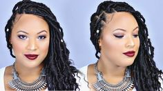 HOW TO ⇢ DIY FAUX GODDESS LOCKS! (Super Easy)
