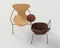 series 7 seven chair arne jacobsen BIG zaha hadid jean nouvel snohetta designboom