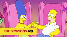 THE SIMPSONS | Homer And Marge, Together Forever | ANIMATION on FOX