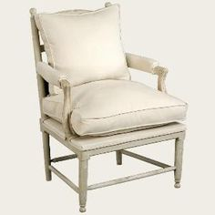 Gustavian Gripsholm Upholstered Chair. Product in photo is from www.wellappointedhouse.com