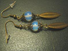 Opalit Bronze Ohrring von Elbengard auf DaWanda.com