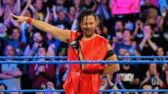 """ Shinsuke Nakamura debuts on SmackDown LIVE - April 4, 2017 """
