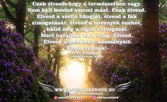 Ariel arkangyal üzenete: Élvezd a természet adományait ~ Angyalok fénye Ariel