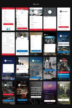 Hexagon iOS 8 Mobile UI Kit Graphic Templates by hoangpts