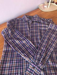 db36426e343 Károvaná košile Franco Callegari v nekrčivé úpravě