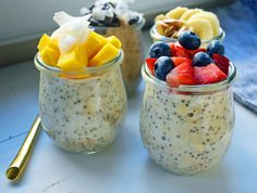 Overnight Oats 5 Way