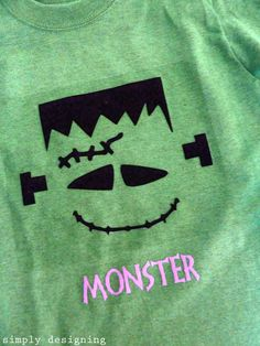 Wickedly Good Monster Halloween Shirts   Expressions Vinyl Blog