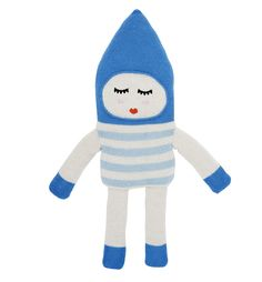 Lucky Boy Sunday Soft Doll Toy - Bonbon Blue