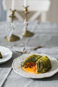 Cabbage and Chicken Tart * Tarte de Repolho com frango  suvellecuisine.com