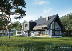 Projekty domów LK&Projekt LK&1336 wizualizacja 16