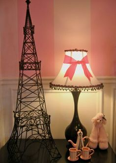 little girls paris inspired bedrooms | ADORABLE EIFFEL TOWER FOR LITTLE GIRLS ROOM | Baby Barbie