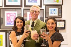 Inauguración Drinking Spree, una exposición de Shag.