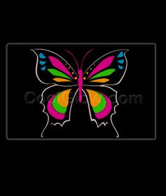I think this is super cool but it is $10 Share CoolGlow with you Friends and Receive 5% on your order.  LED Sound Activated Patch - Butterfly - Coolglow.com #http://pinterest.com/coolglow/