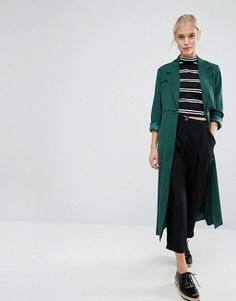 Green Trench Coat, Asos Fashion, Fashion Now, Womens Fashion, Fashion Online, Winter Coats Women, Coats For Women, Clothes For Women