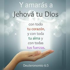Devocional 26/01/2017. Y amarás a Jehová tu Dios por sobre todas las cosas, todas las personas.