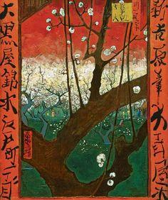 Vincent van Gogh - Flowering Plum Tree