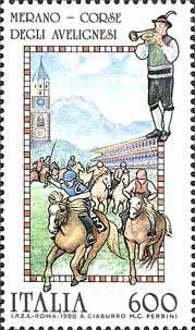 Folclore - Corse degli Avelignesi, a Merano (1990)
