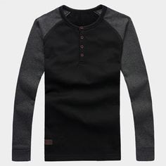 Buy 'One-T – Raglan Long-Sleeve Henley' with Free International Shipping at YesStyle.com. Browse and shop for thousands of Asian fashion items from China and more!