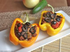 Stuffed Peppers | 103 Essential Low-Carb Recipes For Breakfast, Lunch, And Dinner