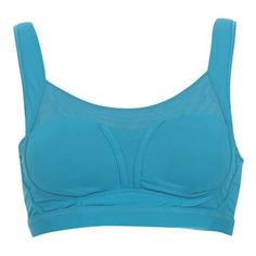 The Sky Blue Gym Fitness Bra a super sturdy make that ensures offering maximum support and breath ability to the wearers.