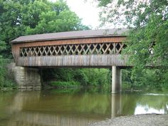 Covered bridge, Ashtabula County, OH