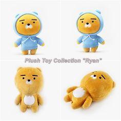 Kakao Friends Official Goods Mini Dolls Plush Toys Ryan Collection 17cm GKKF0038 #KakaoFriends