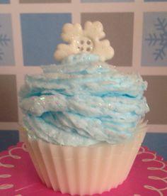 Cupcakes navideño de jabón