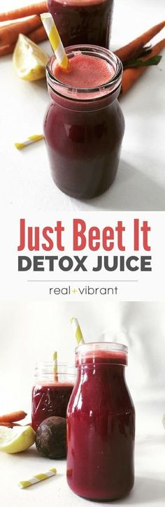 Just Beet It! Juice - This beautiful and vibrant juice is a great everyday elixir to kick off your day! | http://realandvibrant.com