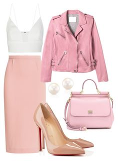 """""""Sem título #228"""" by carolsantana1107 ❤ liked on Polyvore featuring moda, Roland Mouret, Narciso Rodriguez, Rebecca Taylor, Christian Louboutin y Dolce&Gabbana"""