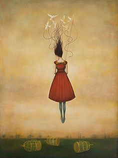Duy Huynh -- Paintings- suspension of disbelief