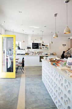 Perfekt Studio Bomba Shop U0026 Cafe, Western Australia Betonwand, Betonboden, Küchen  Inspiration, Innendekoration
