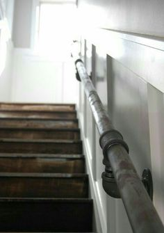 plumbing pipe railings are always an option as well